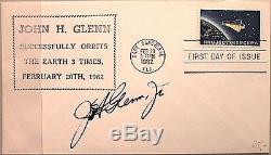 USA 1962 822 1193 Mercury Project FDC John H. Glenn Autograph Space Raumfahrt