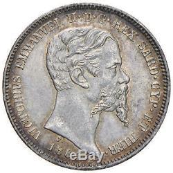 VITTORIO EMANUELE II Re di Sardegna (1849-1861) 1 Lira 1860 M FDC