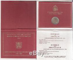Vaticano 2 Euro Fdc Del 2004 Lxxv° Istituzione Dello Stato Euro 90,00