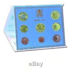 Vaticano Divisionale 2012 Euro Benedetto XVI Nuova Fdc Rara Vatikan Ultima