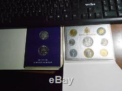 Vaticano Pio XI XII Oro Argento Lotto Anno Santo Fdc Astuccio Originale