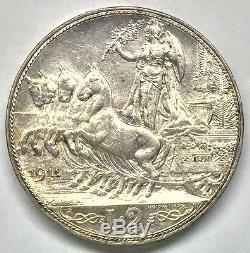 Vittorio Emanuele III 2 Lire 1911 FDC