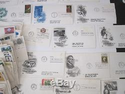 Vtg Lot 300+ First Day of Issue Stamp Envelopes 1960's-1970's Postage FDC