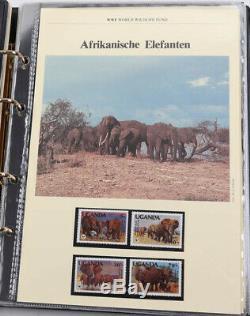 WWF 1983 bis 2007 riesige Sammlung in 33 Alben, FDC und Maximumkarten