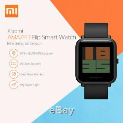 Xiaomi Huami Amazfit Bip GPS IP68 Smart Watch Sports Bracelet Heart Rate Monitor