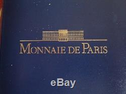 (fdc. 35) Coffret Fdc 1989 (14 Pieces) Avec 10 Francs Montesquieu